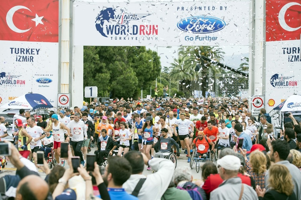 Wings For Life World Run Yine İzmirde